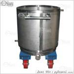Дежа 100 литров с рубашкой (AISI 304)