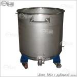 Дежа 500 литров с рубашкой (AISI 304)