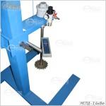 Мешалка с пневмодвигателем стационарная - 3,6 кВт,  с ручным тахометром (съемным)
