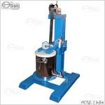 Мешалка с пневмодвигателем стационарная - 1,1кВт с емкостью 20 литров
