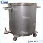 Дежа 300 литров  (AISI 304)